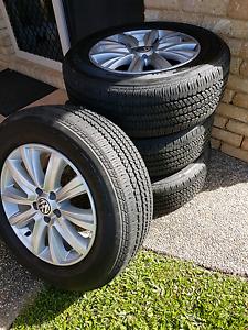 "VW Amarok 18"" Original Rims & Tyres Newell Cairns Surrounds Preview"