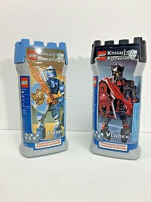 Vintage Lego Knights' Kingdom 8786 Vladek 8783 Jayko Complete