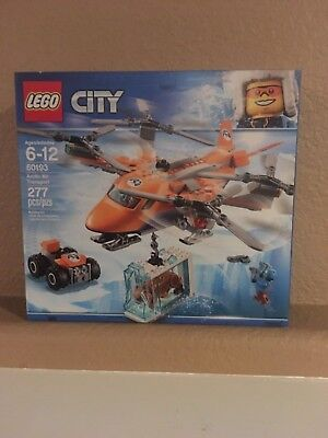 in Sealed Box LEGO City Arctic Air Transport 60193 Age 6 277 Pcs 2018