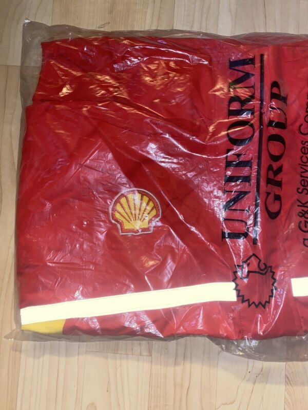Brand New Shell Gas Station Employee Shell Nylon Jacket sz 2XL In Package