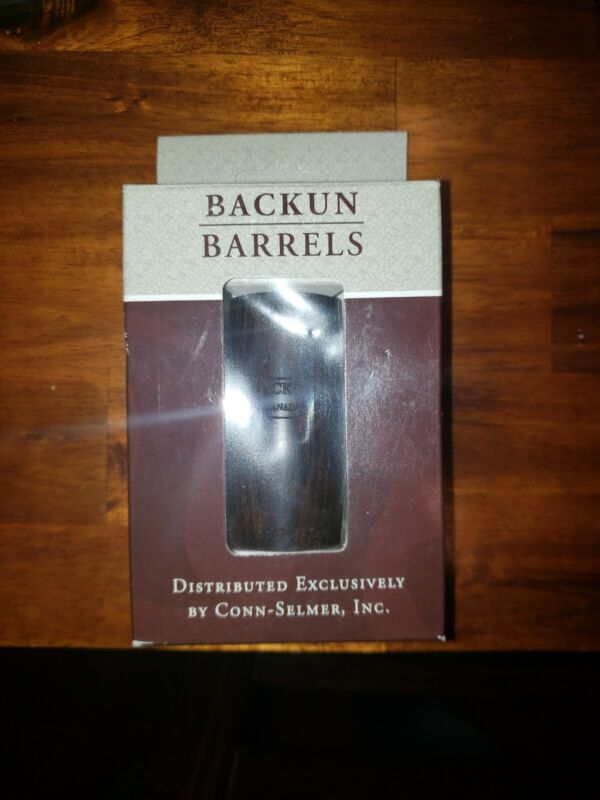 Backun Ringless 65.5MM Clarinet Barrel Grenadilla wood.