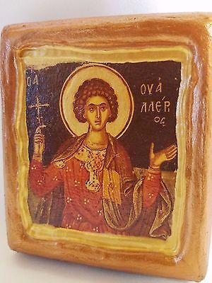Saint Wallerius Wallerios Agios Oualerios  Wally Christianity Church Icon