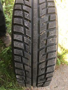 4 pneus hiver 15 pouces