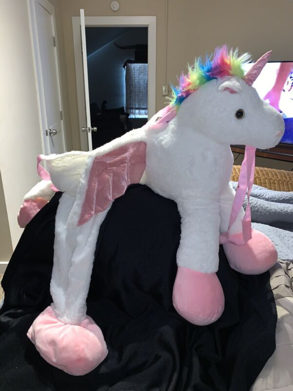 TARGET UNICORN PEGASUS RIDE ON COSTUME girl ONE SIZE halloween DRESS UP party Y8