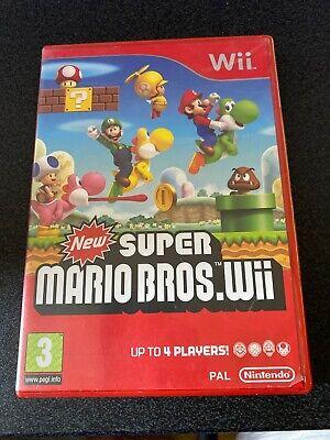 New Super Mario Bros. (Nintendo Wii, 2009) Games Consoles