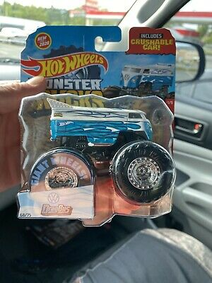 hot wheels monster trucks VW Drag Bus