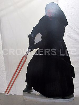 Star Wars Episode 1 #331 Darth Maul Movie Theater Cardboard Standee Cutout 54x71