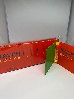 RALPH ROCKS RALPH LAUREN 0.03 oz / 1.0 ML Eau De Toilette Vial Sample 12 piece