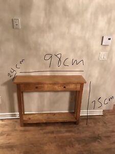 Brazilian wood console table