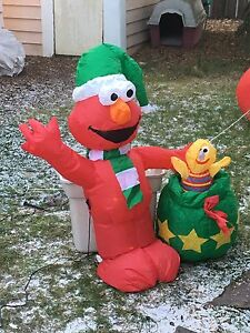 Outdoor Inflatable Elmo