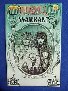 ~~ WARRANT ~ ROCK N' ROLL COMICS ~ 1990 1ST PRINT ~~