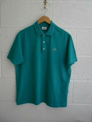LACOSTE SPORT POLO SHIRT, DEVANLAY, SIZE -5 / LARGE, GREEN