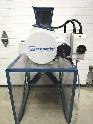 Retsch Sm100 Comfort Cutting Mill 2019 Model  Tons Of Extras