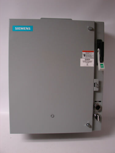 *NEW* Siemens, 87FUF6FC, Fusible Pump Control Panel, Heavy Duty Motor Starter