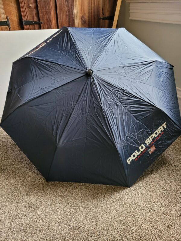 Vintage POLO SPORT RALPH LAUREN Umbrella circa 1990