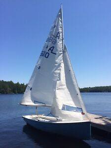 Albacore sailboat in great shape