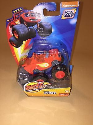 Fisher-Price Blaze and the Monster Machines Die-Cast Toy Vehicle New](Monster Machines)