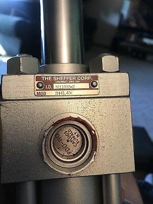 New Sheffer Double Rod Hydraulic Cylinder 2hhsl 4dk