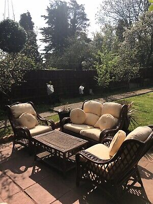 Brown Garden Furniture Set