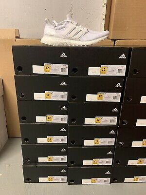 Adidas ULTRA BOOST 2.0 Triple White AQ5929 Size 12 BRAND NEW