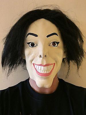 Wacko Michael Jackson Verdrahtet Man Latex Maske mit - Michael Jackson Maske Kostüm
