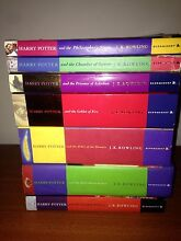 7 Harry Potter books Valley View Salisbury Area Preview