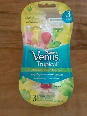 *BEST PRICE-Gillette Venus Razors Tropical Disposable