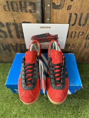 Adidas London 2019 Red & Black BNIBWT UK Size 8