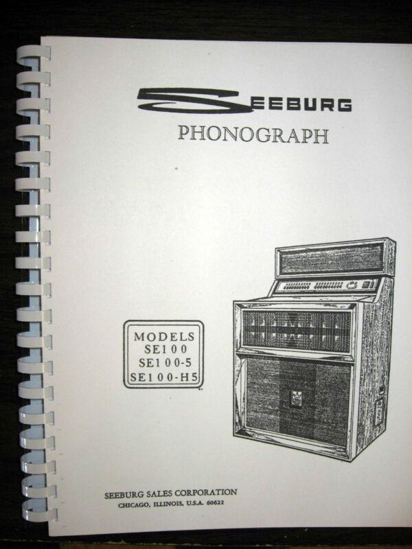 Seeburg Model SE100  SE100-5  SE100-H5  Jukebox Manual