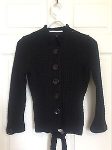 Black Cotten Banana Republic sweater - Size Small