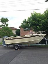 16ft savage fishing boat Gladesville Ryde Area Preview