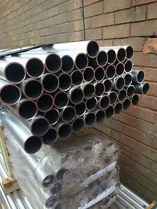 1 x 10ft Aluminium Scaffolding Tube, Scaffold, Handrail, Aerial Mast / Pole