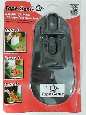 Tape Genie Transforms Your 2 Tape Gun Into A Multi-purpose Tape Dispenser New