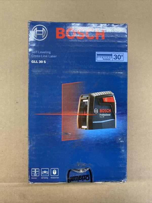 Bosch GLL30S - 30 ft. Self-Leveling Cross-Line Laser Level