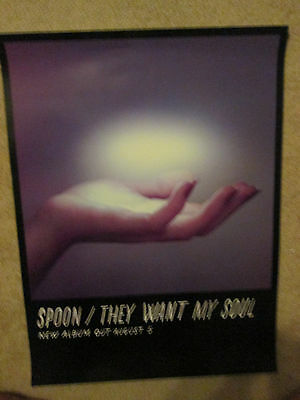 SPOON They Want My Soul 2014 Ltd Ed RARE HUGE New Poster