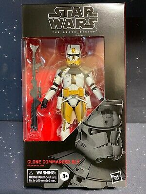2020 Star Wars Black Series 6 inch #104 Clone Commander Bly c8/9