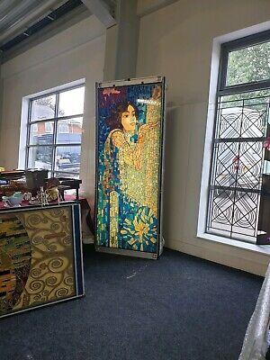 Stained Glass Vintage Shop Display Art Nouveau ArtDeco - Reclamation Salvage