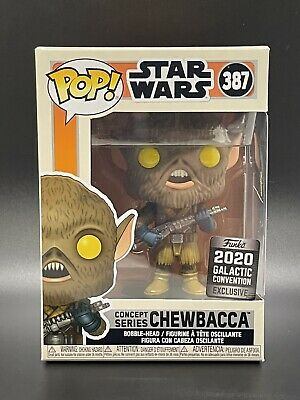 Chewbacca Star Wars Funko POP! #387 2020 Galactic Convention Edition