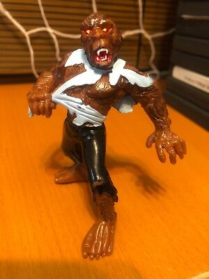 1990s Werewolf Action Figure - Vintage WolfmanSuper Monstruos Horror - Monstruos Halloween