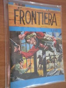Frontiera-Collana-Geronimo-N-7-Anno-1975-stato-Ottimo
