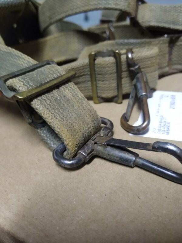 Original WWII US M36 Combat Suspenders