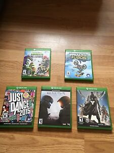 Variety of Xbox One Games