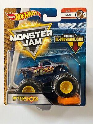 2018 Hot Wheels Monster Jam AFTERSHOCK  MUD 6/6 1:64 B3