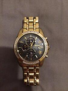 9ct gold seiko watch Sunnybank Brisbane South West Preview