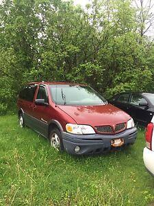 Pontiac montana van minivan 2003