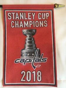 Washington Capitals Stanley Cup Championship Mini Banner 4