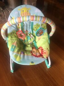 BRIGHT START BOUNCER/ROCKER (JUNGLE) EUC