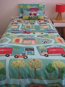 Boys Single Bed Quilt Cover Set + Pillow East Maitland Maitland Area Preview