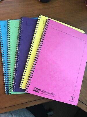 Europa A4 Notebook (Bundle of 5) 120 pages (Claire Fontaine)