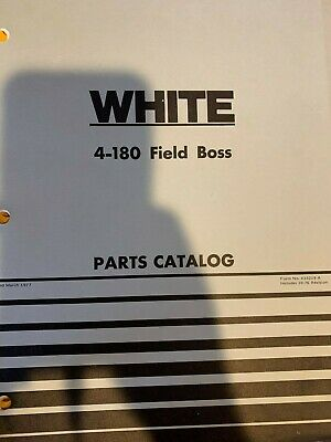 Wfe White 4-180 Field Boss Parts Catalog Catlogue